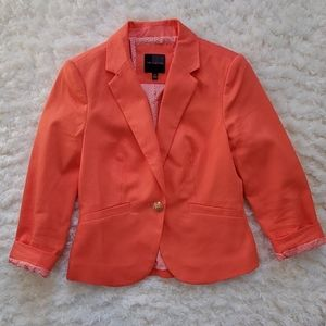 Size XS Limited Coral Jacket Blazer Suit Jacket